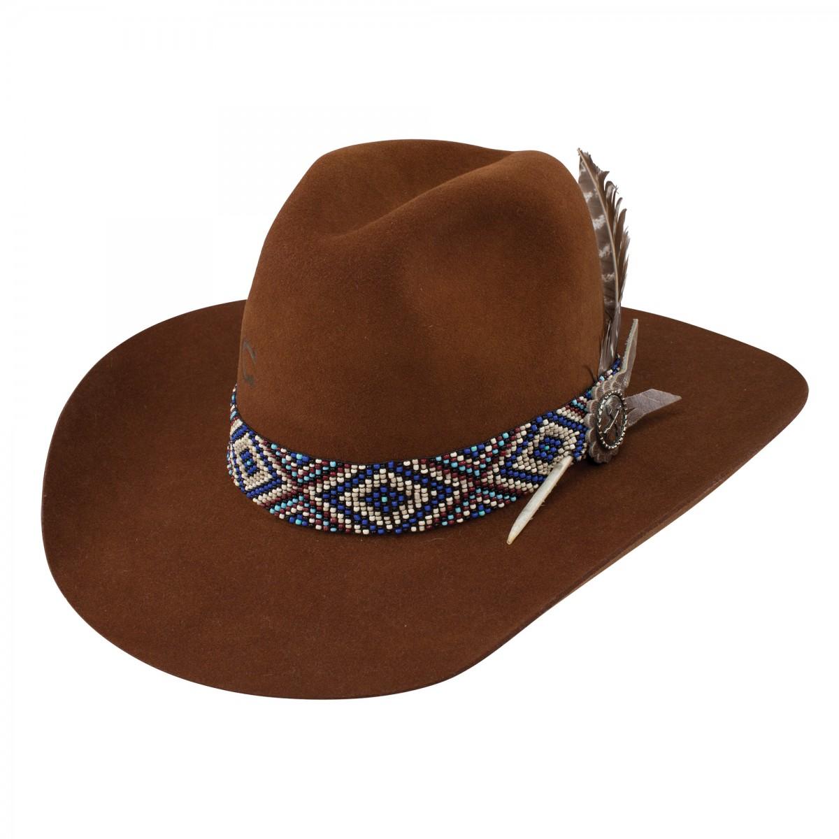 83d01a32dc438 Charlie 1 Horse Women s Old Hag Felt Hat 5X ( Cognac ) - El Potrerito