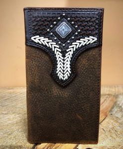 48e6a8f08be56 Cuernos Chuecos - 6X Brick Crown Cowboy Felt Hat ( Black ) - El ...