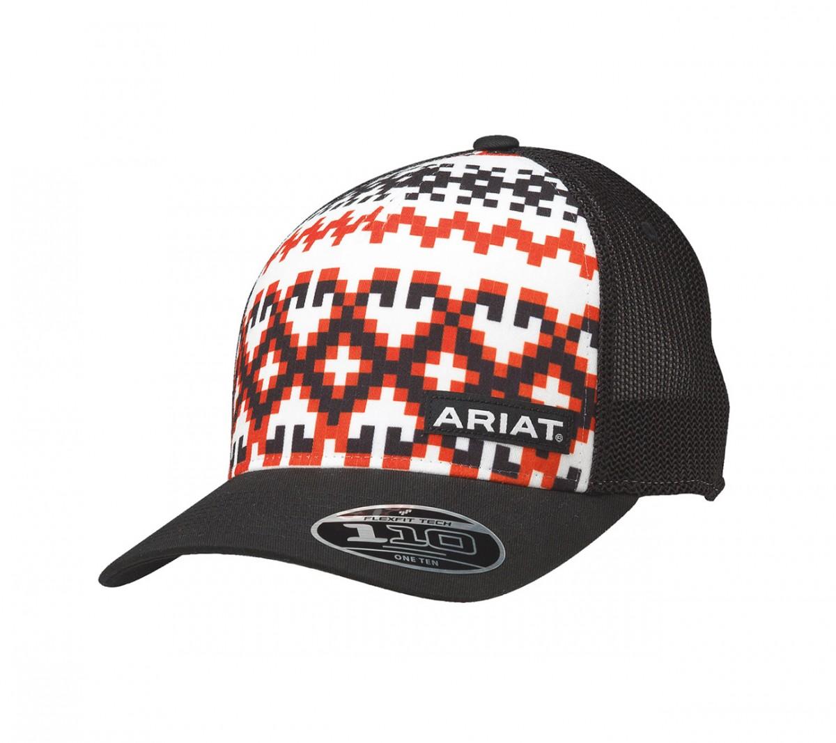 new styles da2b7 efa31 ... discount code for ariat mens pattern logo cap black el potrerito f9fd5  5afb3