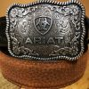 kids ariat belt