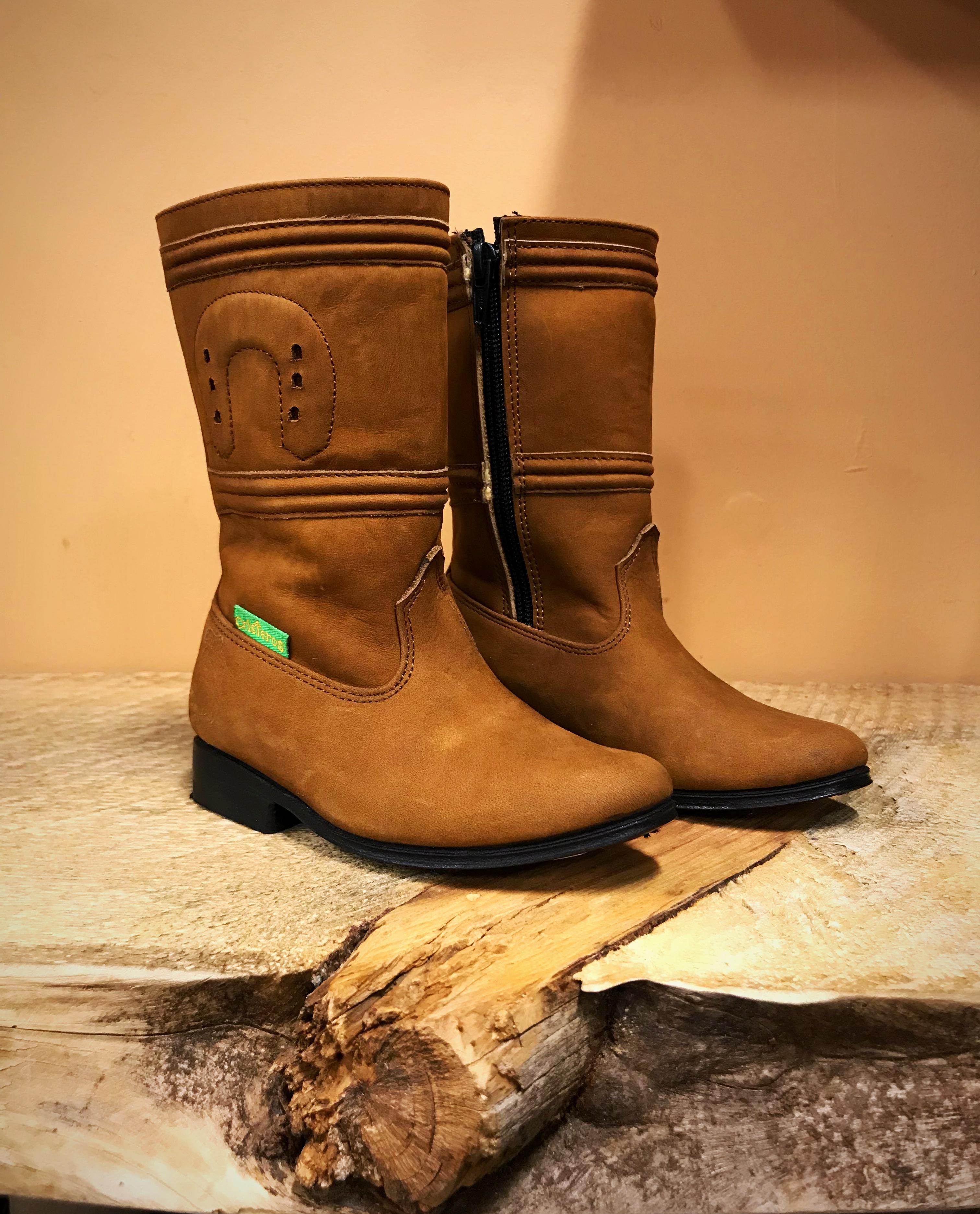 Kids - Girls Escaramuza Leather Boots