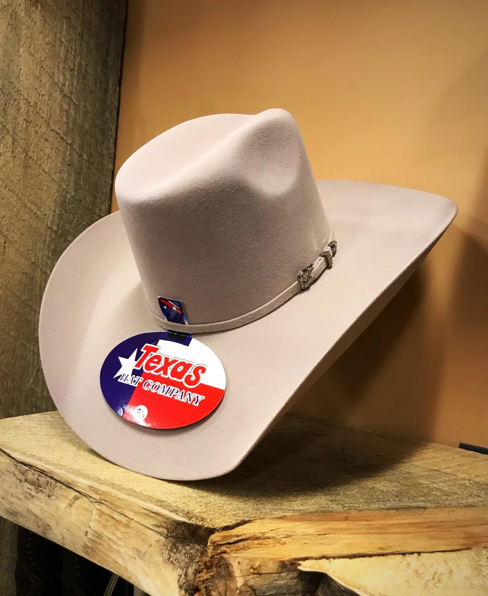 8d195c382f2f55 usa texas hat company reparo mens 3x western felt hat buckskin 2d19b 80391