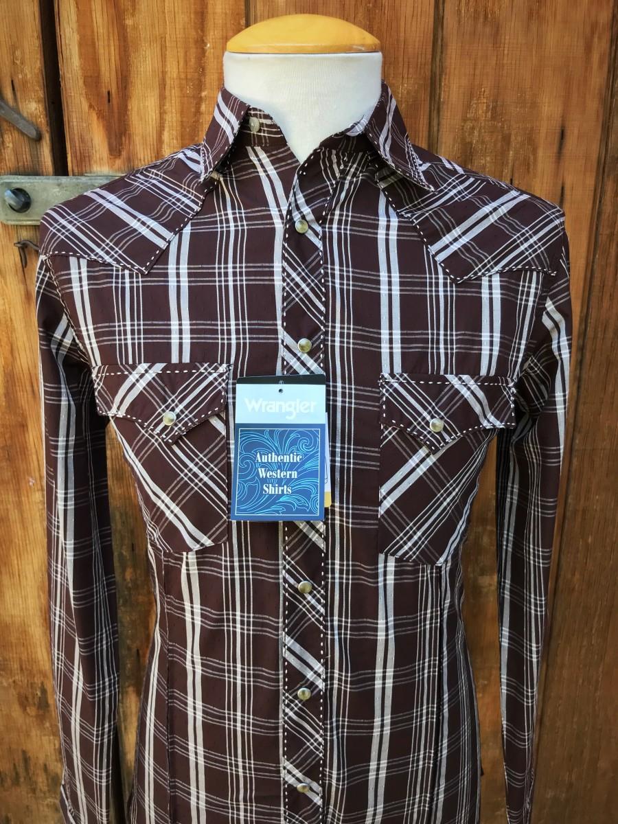 Men's Long Sleeve Fashion Western Snap