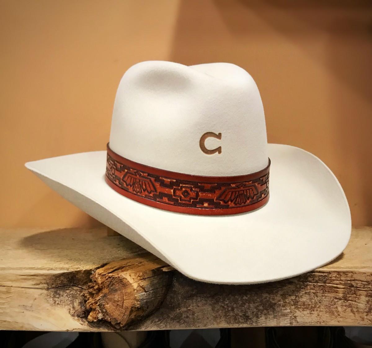 fe37c37a0d1b1 Charlie 1 Horse Women s Chief Felt Hat 4X ( Bone ) - El Potrerito