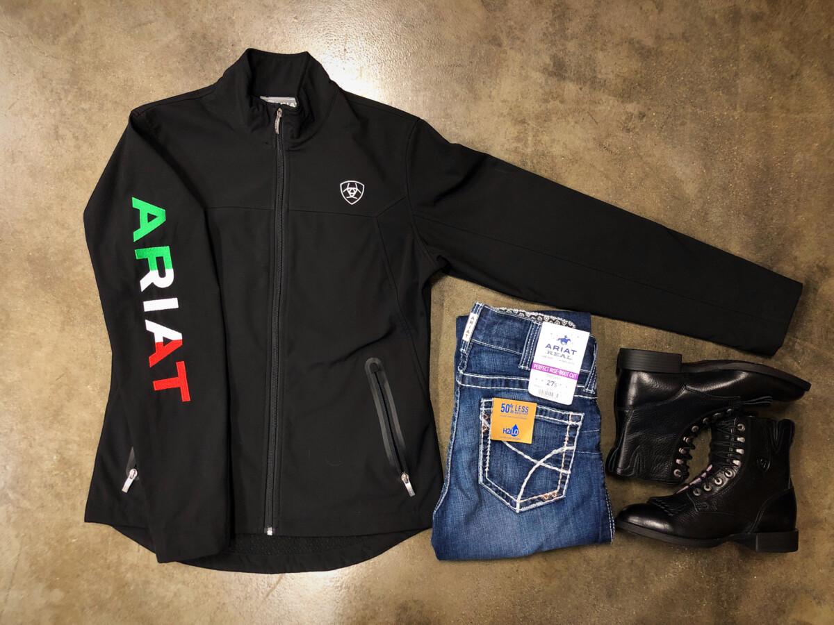 WOMEN'S MEXICO New Team Soft-shell Jacket ( Black